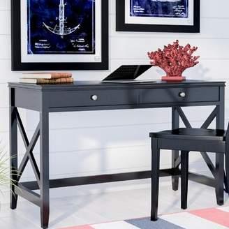 Beachcrest Home Thomaston Wood Desk Color: Antique White