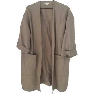 Cos Beige Linen Coat for Women