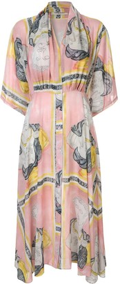 Tata-Naka Tata Naka printed midi dress