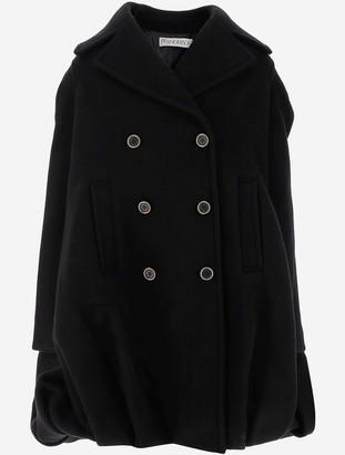 J.W.Anderson Oversized Double-Breasted Wool blend Women's Coat