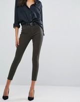 DL1961 Jessica Alba X DL No.2 Super Skinny Ultra High Rise Ankle Grazer with Hidden Zipper