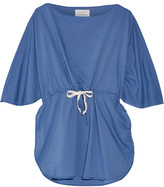 Solid and Striped + Poppy Delevingne cotton-chambray tunic