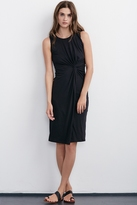 Gretchen Jersey Knot Front Dress