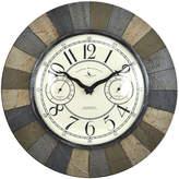 Asstd National Brand FirsTime Slate Garden Wall Clock