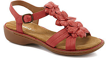 Michelle D Jennifer Casual Flat Sandals