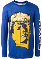 Moschino face print T-shirt - men - Cotton - 48