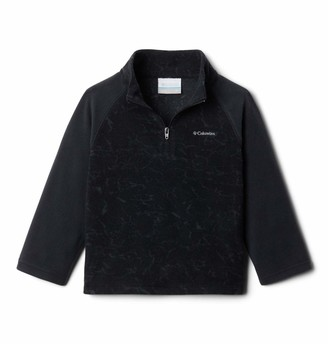 Columbia Youth Glacial III Fleece Printed Half Zip Soft Fleece Classic Fit