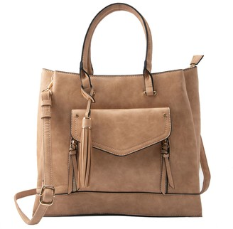 Violet Ray Triple Compartment Satchel - Lacii