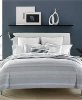 Hotel Collection Cotton Reversible Engineered Dots King Duvet Cover, Created for Macy's