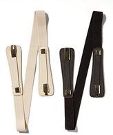 New York & Co. Metallic Hardware Stretch Belt