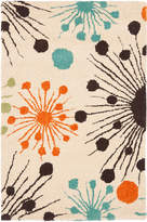 Safavieh Starburst Hand-Tufted Wool and Silk Rug