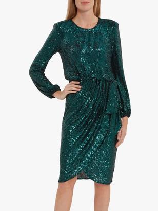 Gina Bacconi Pieta Sequin Dress