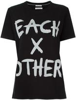 Each X Other logo print T-shirt