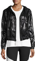 Stella McCartney Climastorm®; Embossed Run Jacket, Black