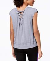 Calvin Klein Drop-Shoulder Icy Wash T-Shirt