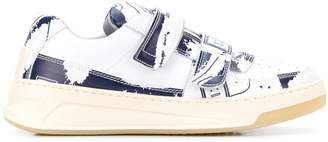 Acne Studios Steffey Map low-top sneakers