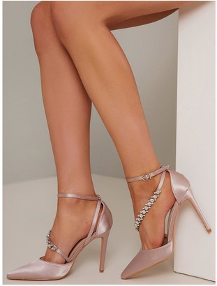 Chi Chi London Cher Heels - Mink