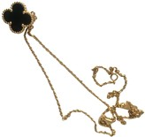 Van Cleef & Arpels Alhambra Black Yellow gold Necklaces