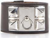 Hermes Brown Swift Collier de Chien CDC Bracelet