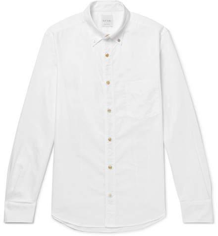 Paul Smith Soho Slim-Fit Button-Down Collar Cotton Oxford Shirt