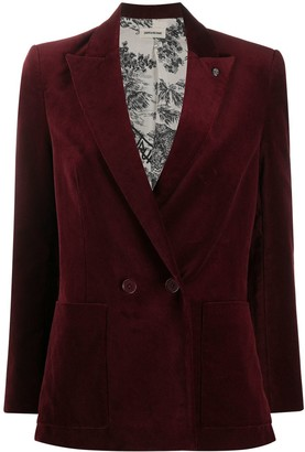 Zadig & Voltaire Visko single-breasted blazer
