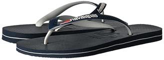 Havaianas USA Logo Sandal (Navy Blue) Men's Sandals