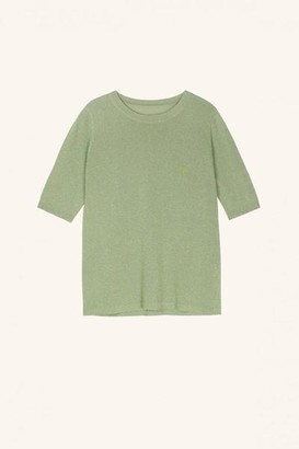 FRNCH Norma Ms 20 20 Pullover Pistachio Green - S