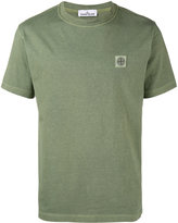 Stone Island logo patch t-shirt - men - Cotton - S