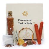 Gemstone Organic Sacral Chakra Ceremonial Bath