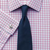 Charles Tyrwhitt Classic fit grid check red and sky blue shirt