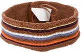 M Missoni Knit Waist Belt