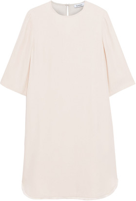 Rodebjer Eluera Fringe-trimmed Crepe De Chine Dress