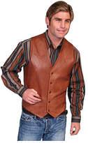 Scully Men's Lambskin Button Front Vest 503-60