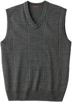 Dockers Men's Windowpane Sweater Vest