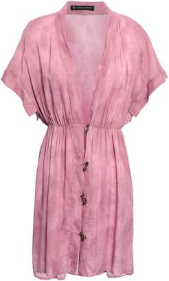 Vix Paula Hermanny Tie-dyed Woven Coverup