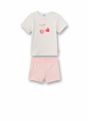 Sanetta Baby Girls' Pyjama Lang Set