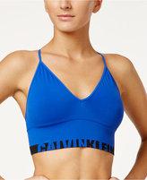 Calvin Klein Low-Impact Logo Longline Bralette QF1567