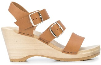 NO.6 STORE Caged Wedge Sandals
