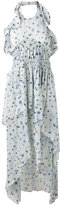 IRO floral print halterneck dress - women - Viscose - 40
