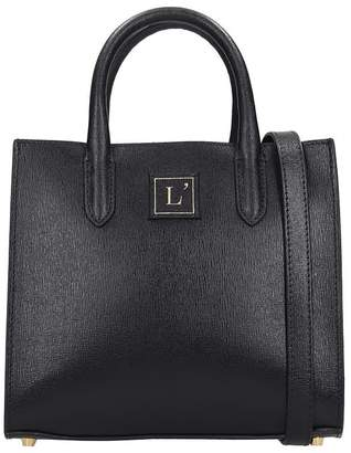 L'Autre Chose Lautre Chose LAutre Chose Hand Bag In Black Leather