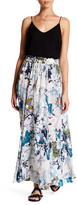 Melrose and Market Floral Maxi Skirt (Petite)