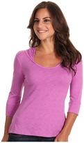 Mountain Hardwear Lochvale Slub L/S Hoodie (Blossom Pink) - Apparel