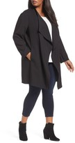 Halogen Plus Size Women's Drape Front Jacket