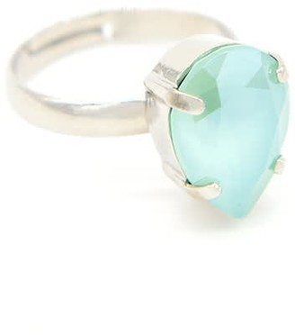 Rosaspina Firenze Drop Ring In Mint Green