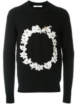 Givenchy floral embroidered sweatshirt