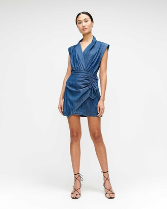 7 For All Mankind Blazer Dress in Pacific Street