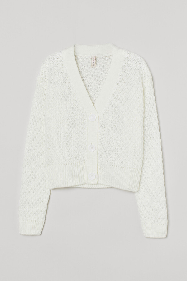 Thumbnail for your product : H&M Moss-knit cardigan