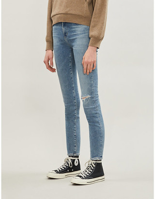 Citizens of Humanity Rocket cropped skinny high-rise jeans