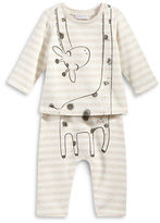 First Impressions Two-Piece Giraffe Tee and Pants Set