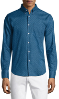 Naked & Famous Denim Faded & Print Slim Sportshirt